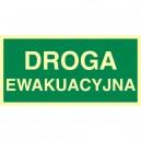 Znak droga ewakuacyjna