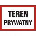 Znak Teren prywatny