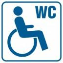 Piktogram Toaleta dla inwalidów