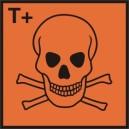 Znak Substancja bardzo toksyczna