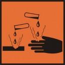 Znak Substancja żrąca