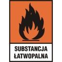 Znak Substancja łatwopalna