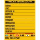Tablica Tablica Budowlana Informacyjna