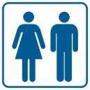 Piktogram Toaleta damsko-męska