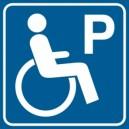 Piktogram Parking dla niepełnosprawnych