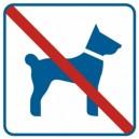 Piktogram Zakaz wprowadzania psów