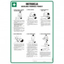 Instrukcja BHP udzielania pierwszej pomocy